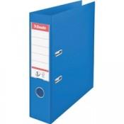 Plastový pákový pořadač Esselte VIVIDA - A4, s kapsou, hřbet 7,5 cm, modrý