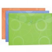 Spisové desky s drukem NEO COLORI - A4, zelené
