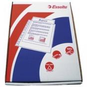 """Závěsné """"U"""" obaly Esselte - A4, 46 mikronů, krupičkový povrch, 100 ks"""