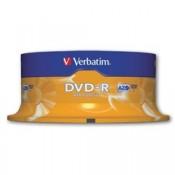 Disky DVD-R Verbatim - cake box, 25 ks