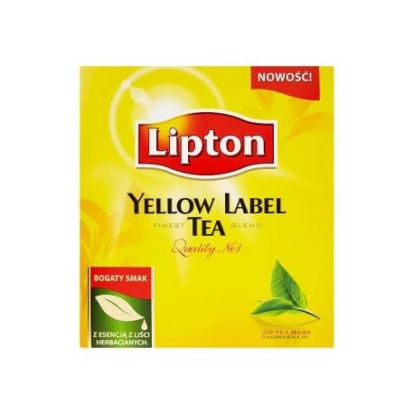 Lipton Yellow label černý čaj 100 sáčků 200g