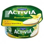 Danone Activia Tvarohová příchuť vanilka 135g