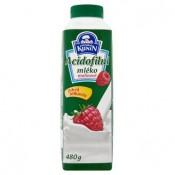 Mlékárna Kunín Acidofilní mléko malinové 480g