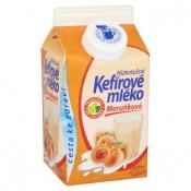 Mlékárna Valašské Meziříčí Nízkotučné kefírové mléko meruňkové 450g