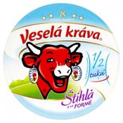 Veselá Kráva Štíhlá a ve formě tavený sýr 8 porcí 140g