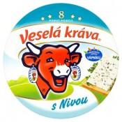 Veselá Kráva Tavený sýr s nivou 8 ks 140g