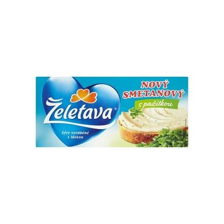 Želetava Nový smetanový tavený sýr s pažitkou 150g