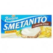 Želetava Smetanito Tavený sýr s uzeným sýrem 3 ks 150g