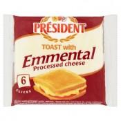 Président Tavený plátkový sýr s ementálem 120g