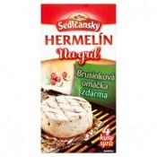 Sedlčanský Hermelín na gril, brusinková omáčka 450g