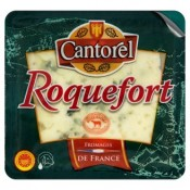 Cantorel Roquefort AOP zrající ovčí sýr s plísní uvnitř hmoty 100g