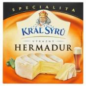 Král Sýrů Hermadur výrazný sýr zrající na povrchu 125g
