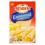 Président Emmental plátkový sýr 100g