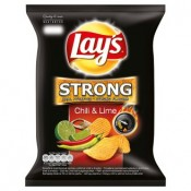 Lay's Strong Chilli & limetka 77g