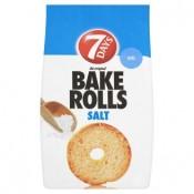 7 Days Bake Rolls Křupavé chlebové chipsy slané 80g