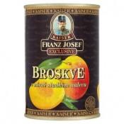 Kaiser Franz Josef Exclusive Broskve v mírně sladkém nálevu 410g