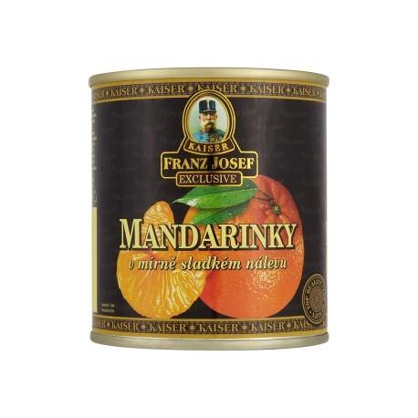 Kaiser Franz Josef Exclusive Mandarinky v mírně sladkém nálevu 312g