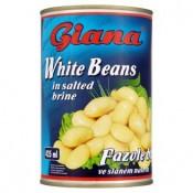 Giana Fazolé bílé ve slaném nálevu 400g