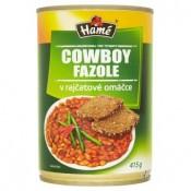 Hamé Cowboy fazole v rajčatové omáčce 415g