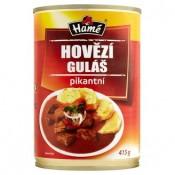 Hamé Hovězí pikantní guláš hotové jídlo 415g