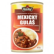Hamé Mexický guláš hotové jídlo 415g