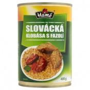 Hamé Slovácké fazole s klobásou 400g