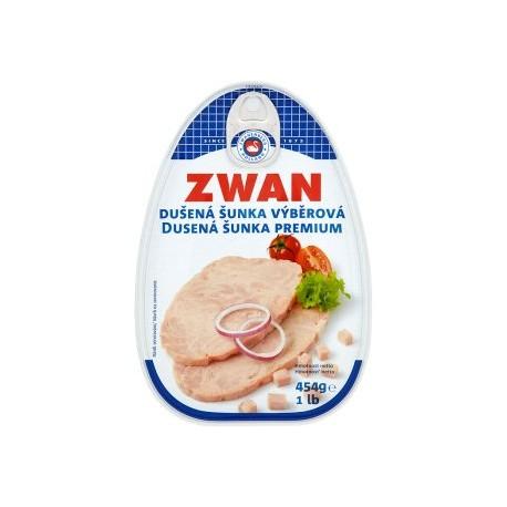 Zwan Dušená šunka výběrová 454g