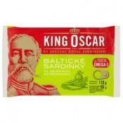 King Oscar Baltické sardinky se zeleninou 110g