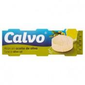 Calvo Tuňák v olivovém oleji 3 x 80g