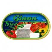 Giana Sleď filety v paprikové omáčce 170g