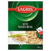 Lagris Natural pololoupaná rýže 4 varné sáčky 480g