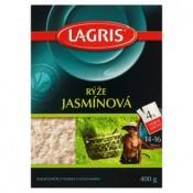 Lagris Rýže dlouhozrnná jasmínová 4 varné sáčky 400g