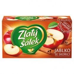 Zlatý Šálek Jablka se skořicí ovocný čaj aromatizovaný 20 x 1,75g