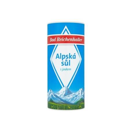 Bad Reichenhaller Alpská sůl s jodem 500g