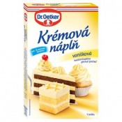 Dr. Oetker Krémová náplň vanilková 65g