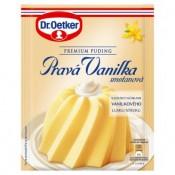 Dr. Oetker Premium Puding Pravá vanilka smetanová 40g