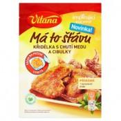 Vitana Inspirující Kuchyně Má to šťávu křidélka s příchutí medu a cibulky 30g
