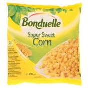 """Bonduelle Cukrová kukuřice ,,super sweet"""" hluboce zmrazená 400g"""