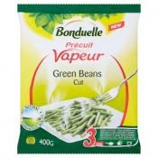 Bonduelle Vapeur Zelené fazolové lusky jemné hluboce zmrazené 400g