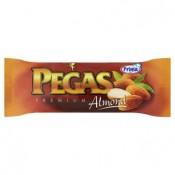 Prima Pegas Premium almond mražený vanilkový krém v kakaové polevě s mandlemi 110ml