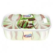 Prima pistáciová zmrzlina s čokoládovým toppingem 900ml