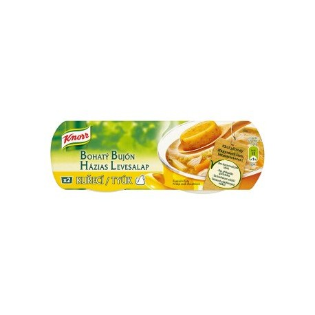 Knorr Bohatý Bujón Kuřecí 2 x 28g