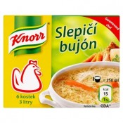 Knorr Slepičí bujón 6 x 10g
