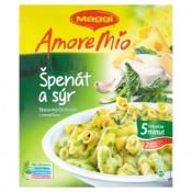 Maggi Amore Mio Špenát a sýr těstoviny s omáčkou 2 porce