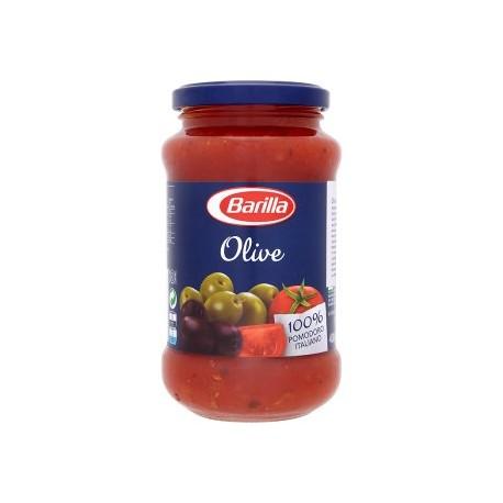 Barilla Rajčatová omáčka se zelenými a černými olivami 400g