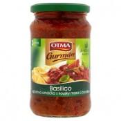 Otma Gurmán Basilico rajčatová omáčka s kousky masa a bazalkou 350g