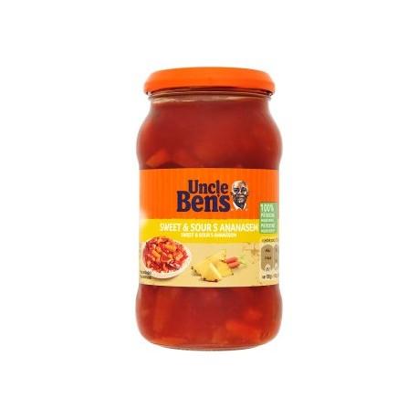Uncle Ben's Sweet & Sour s ananasem 400g