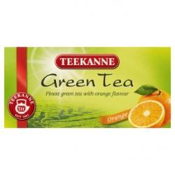 TEEKANNE Zelený čaj s příchutí pomeranče, 20 sáčků, 35g