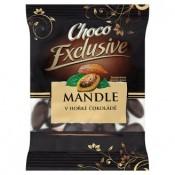 Poex Choco Exclusive Mandle v hořké čokoládě 150g