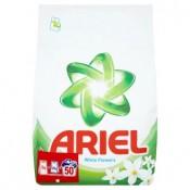 Ariel Compact White flowers prací prostředek 50 praní